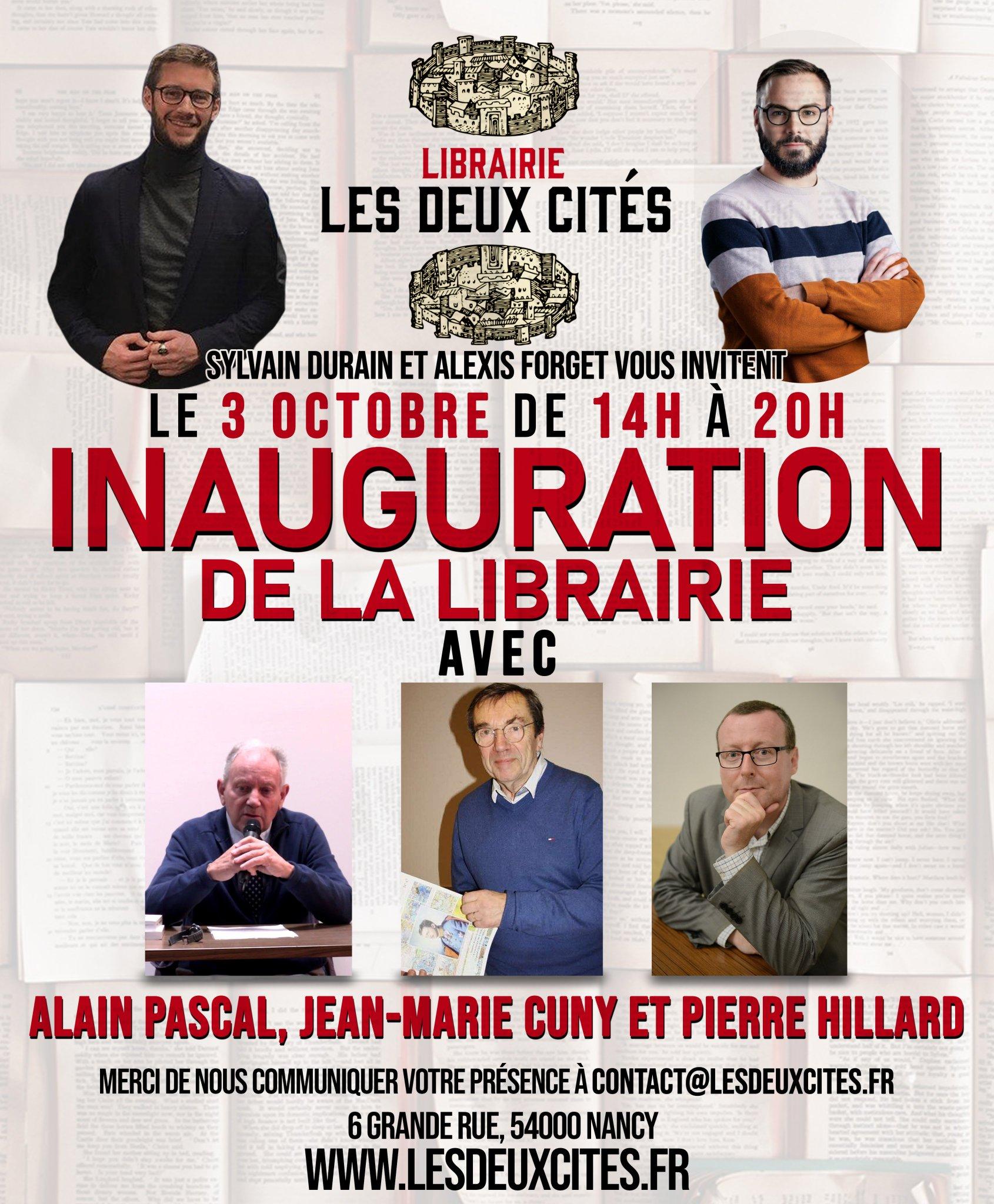 Alain Pascal à Nancy